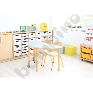 Legs for Flexi tabletops - mix - height 64 cm - Moje Bambino