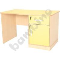 Desk Flexi de luxe - yellow