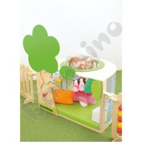 Hide out for a baby corner