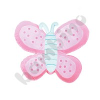 Pillow FLAT - pink butterfly