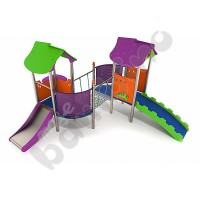 Neo Two towers with rope bridge - purple