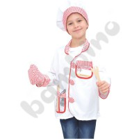 Costume with accessories - Chef