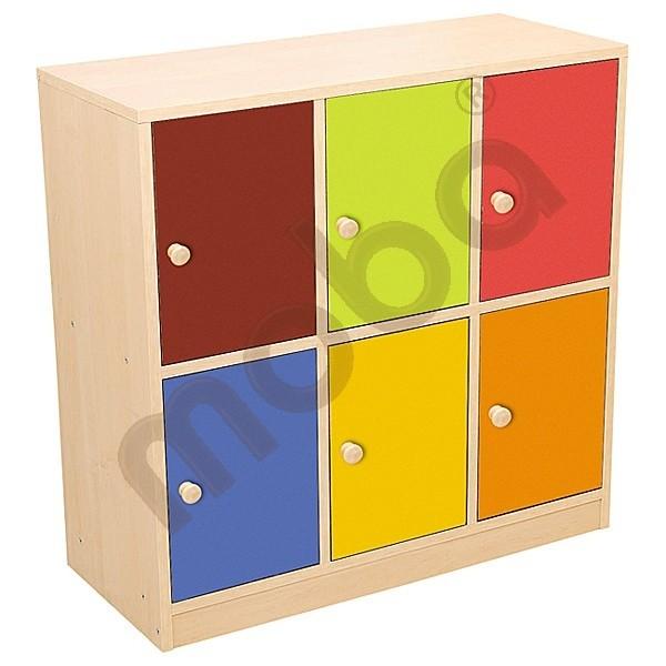 Colorful Doors For Bookshelves Green Moje Bambino