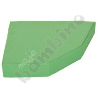 Quadro mattress  green, height: 15 cm