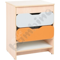 Quadro kitchen - Cabinet with drawers