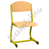 IN-C chair size 5 yellow
