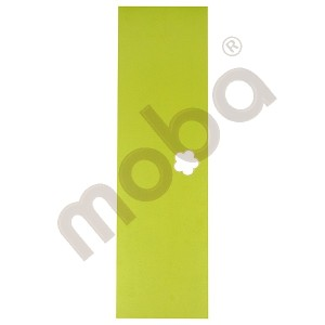 Door for cloakroom Mariposa green