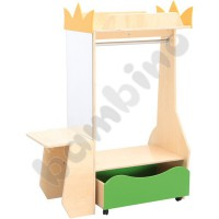 Wardrobe with a dressing table Flexi