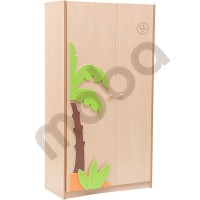 Large wardrobe with appliqué for Pirate Ship set