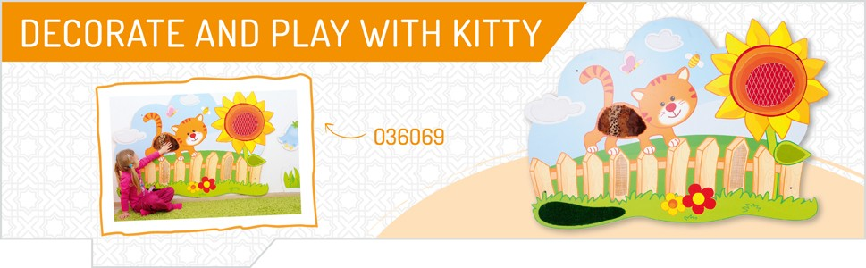 Decorate and play with kitty